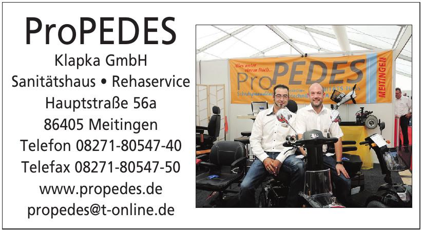 ProPEDES Klapka GmbH