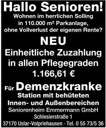 Seniorenheim Emmermann GmbH