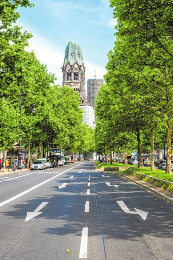 Berlins weltberühmter Boulevard Kudamm steht für historische Pracht, Eleganz und WohlstandGETTY IMAGES/ISTOCKPHOTO/NIKADA