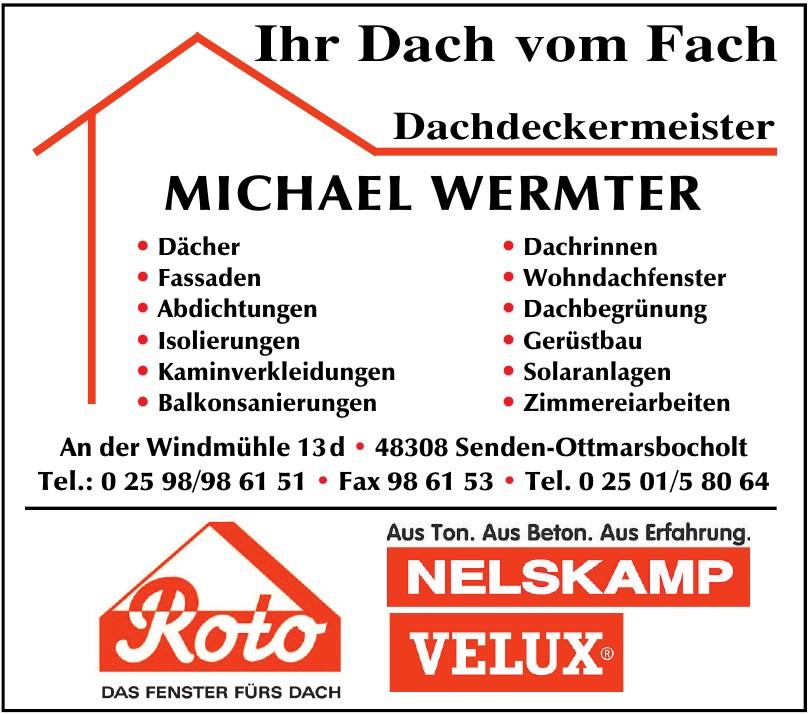 Michael Wermter Dachdeckermeister
