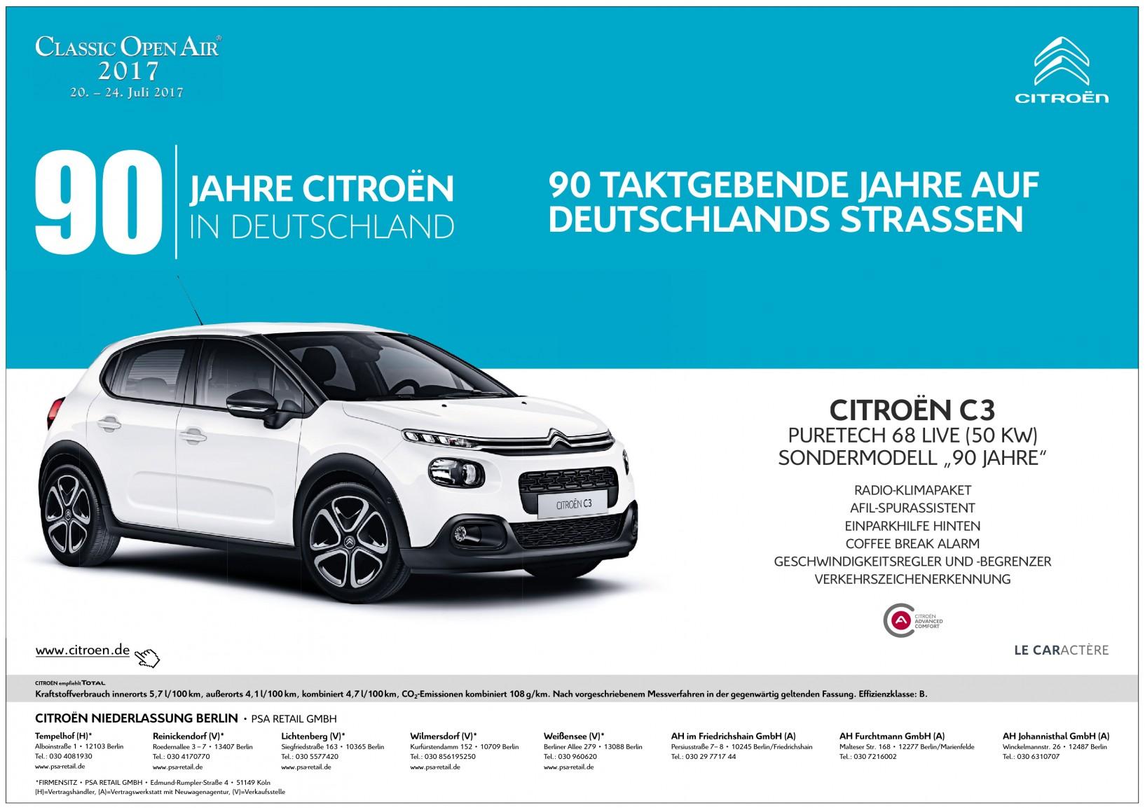 Citroen Niederlasung Berlin - AH Johannisthal GmbH (A)