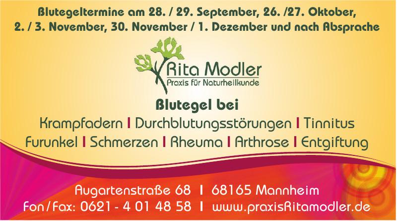 Rita Modler Praxis für Naturheilkunde