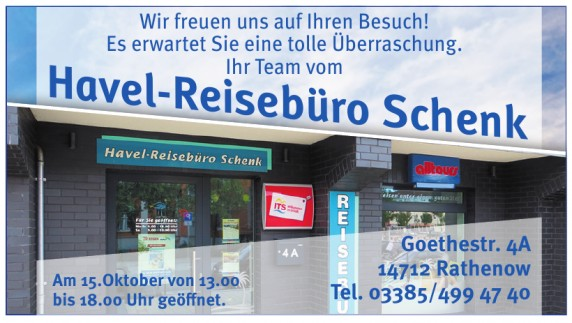 Havel-Reisebüro Schenk