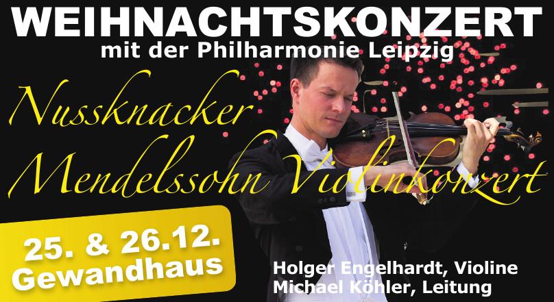 Weihnachtskonzert mit der Philharmonie Leipzig