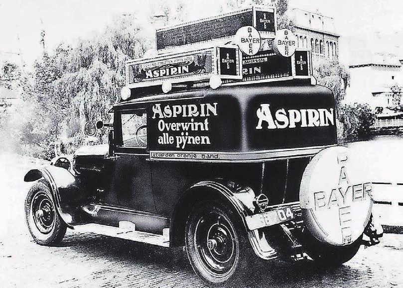 Die Aspirin-Tabletten bescherten Bayer einen weltweiten Erfolg. Foto: Bayer AG