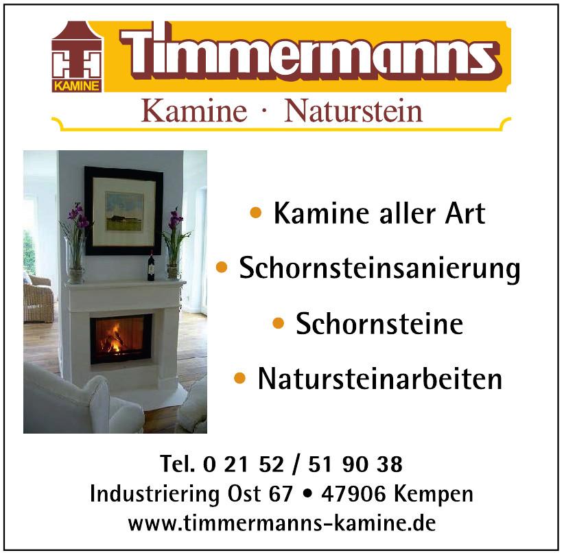 Timmermanns Kamine