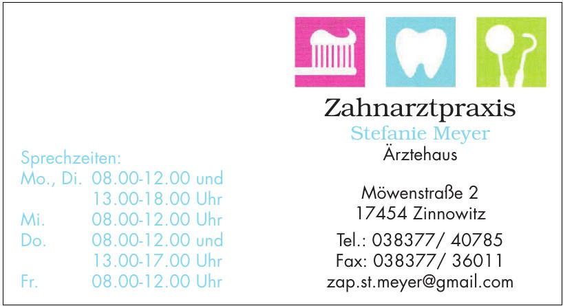 Zahnarztpraxis Stefanie Meyer