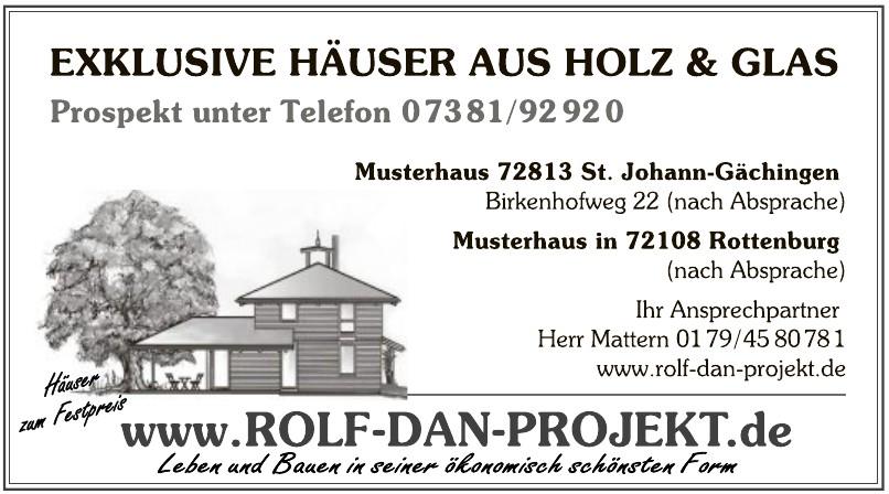 """rolf dieter ROLF """"DAN-PROJEKT"""" GmbH Surveyor- und Ingenieurgesellschaft"""