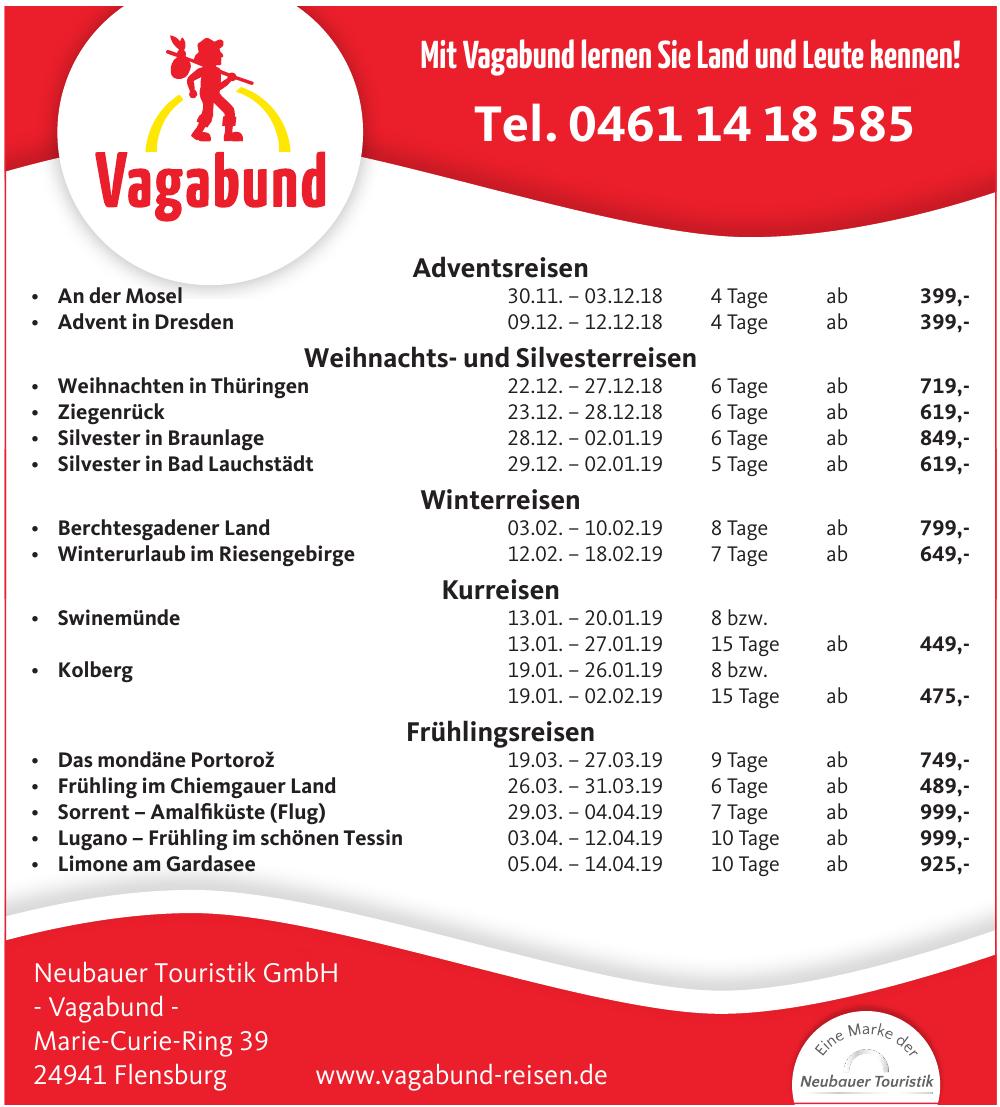 Neubauer Touristik GmbH-Vagabund