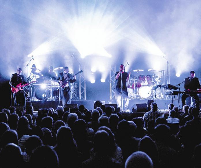 Geneses kommen nach Wolfsburg – mit Hits und Klassikern der Band um Phil Collins, Peter Gabriel und Steve Hackett. Foto: Fabian Piekert