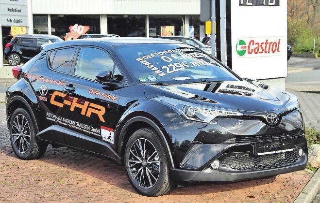 Sportlich im Fahren und dynamisch in der Optik: der neue Toyota C-HR.