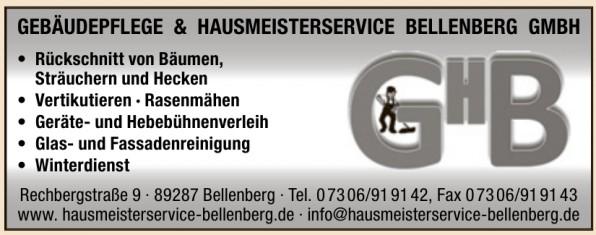 Gebäudepflege & Hausmeisterservice Bellenberg GmbH