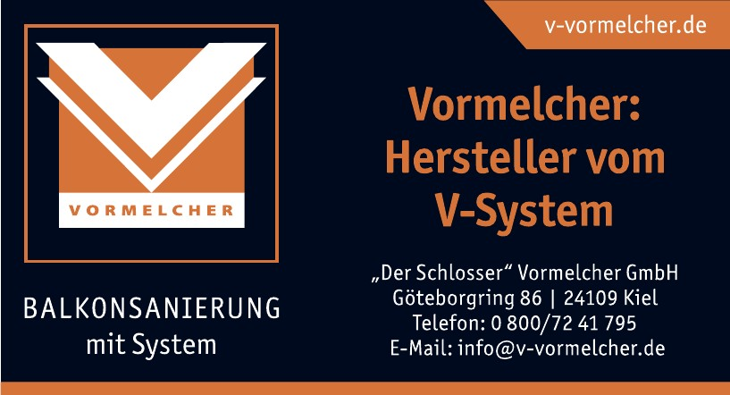 """""""Der Schlosser"""" Vormelcher GmbH"""