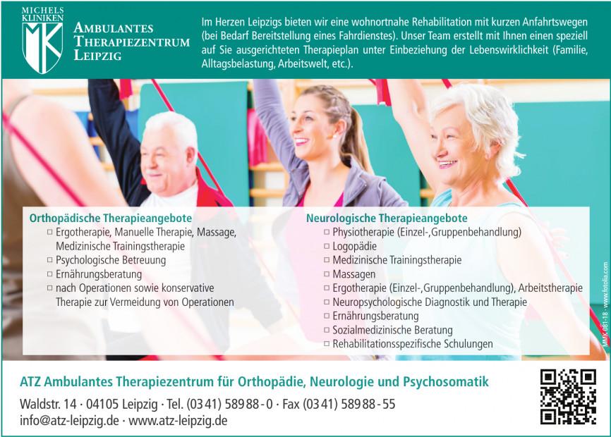 ATZ Ambulantes Therapiezentrum für Orthopädie, Neurologie und Psychosomatik