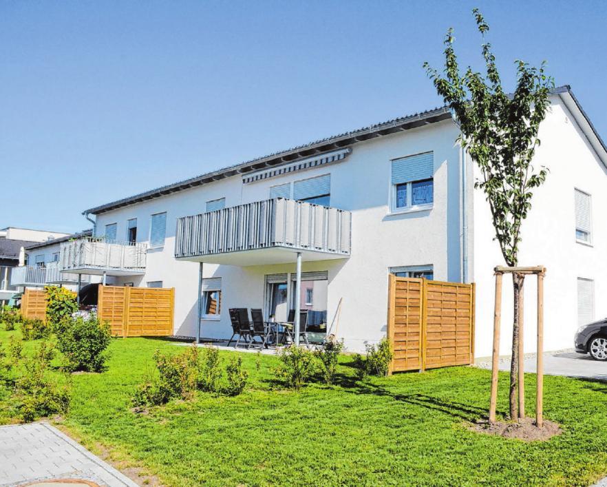 Baugenossenschaft Münsingen Neubau Neuffenstraße 32