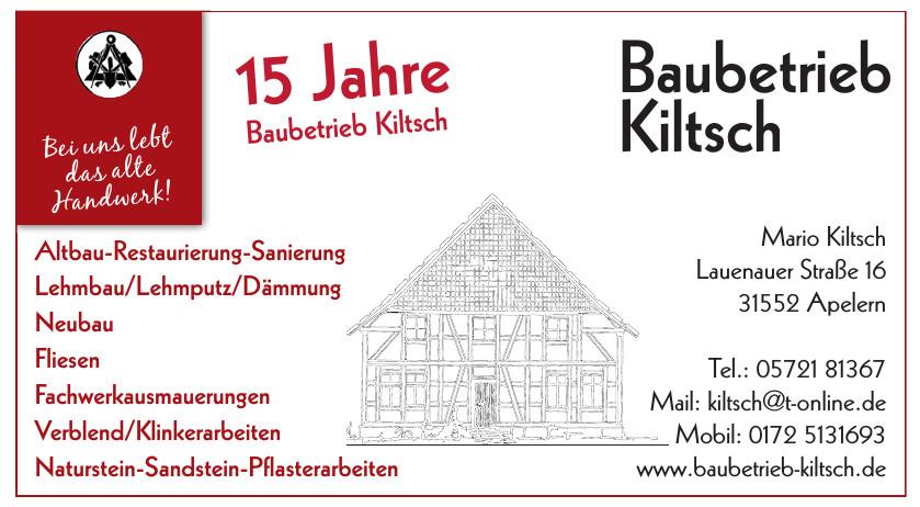 Baubetrieb Kiltsch