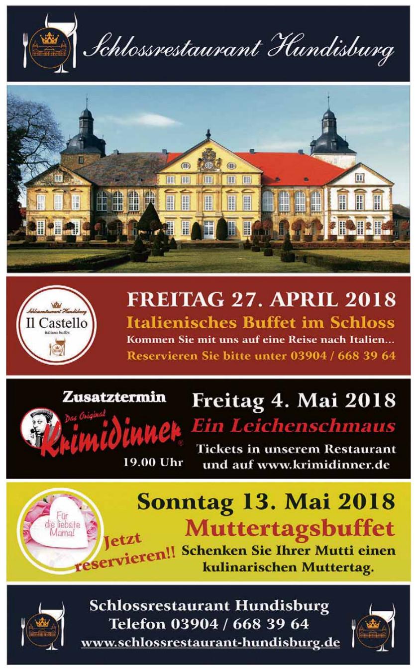 Schlossrestaurant Hundisburg
