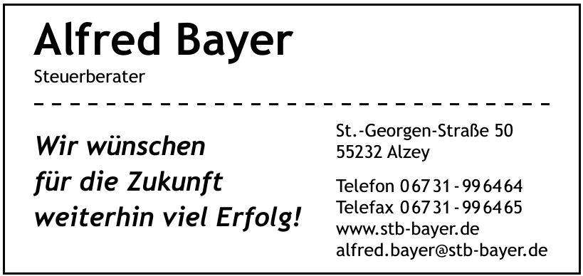 Alfred Bayer Steuerberater