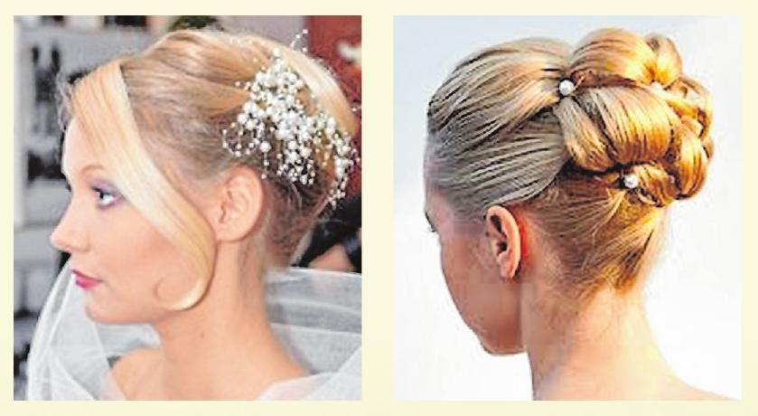 Beispiele für Braut-Frisuren Fotos (2): Intercoiffure-Salon Lüdke