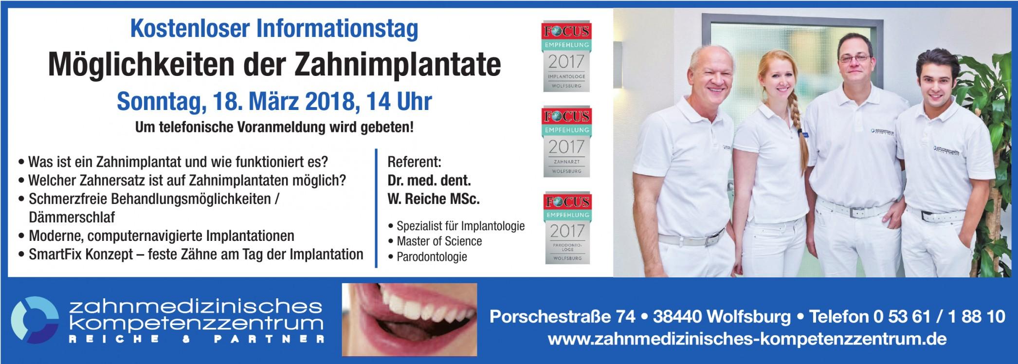 Zahnmedizinisches Kompetenzzentrum Reiche & Partner