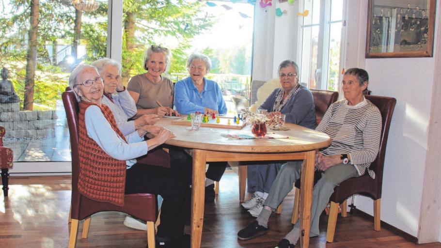 Gemeinsam leben und Spaß haben - das ermöglicht die ambulant betreute Seniorenwohngemeinschaft in Heimenkirch.