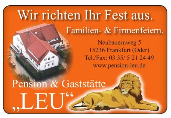 """Pension & Gaststätte """"LEU"""""""