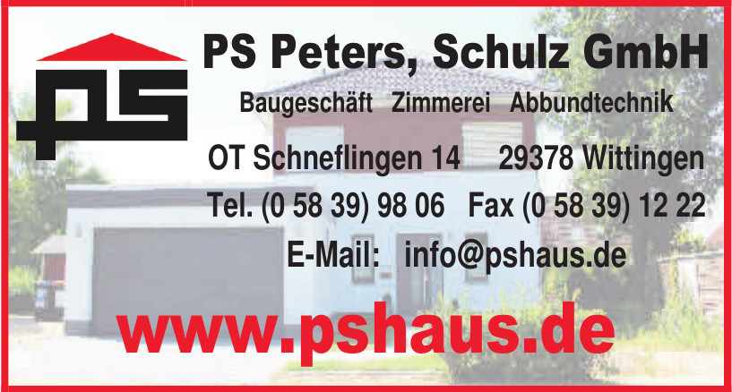 PS Peters, Schulz GmbH