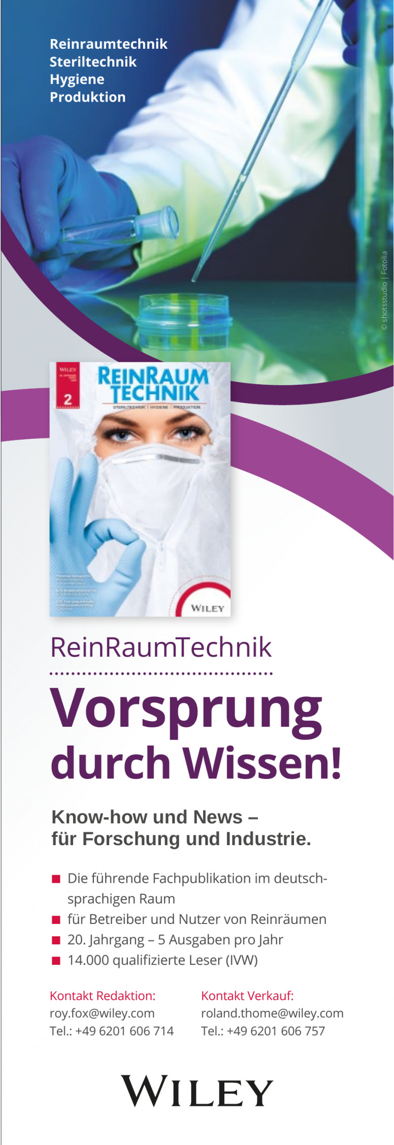 Wiley ReinRaumTechnik