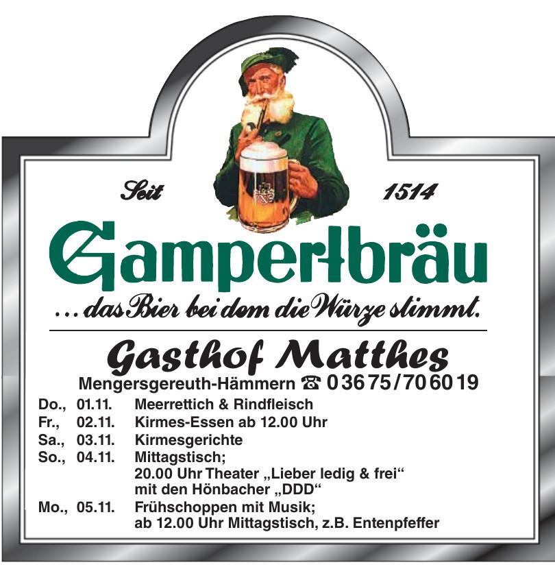 Gasthof Matthes