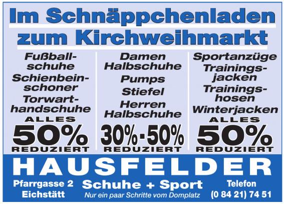 Hausfelder Schuhe + Sport
