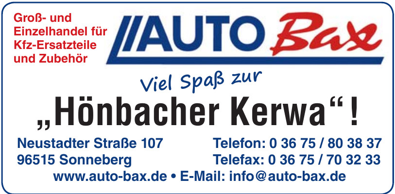 Auto Bax
