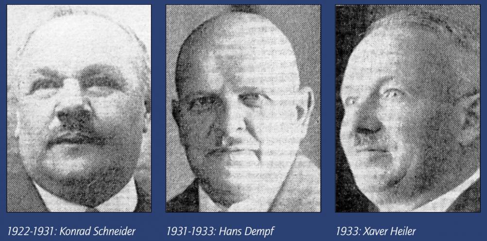 Nicht abgebildet: Isidor Immler – 1887-1890