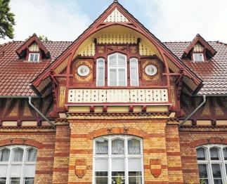 Von Grunewald nach Heringsdorf: Viele Häuser im Stil der Bäderarchitektur erinnern an die Berliner Villenviertel PA/KARL F. SCHÖFMANN