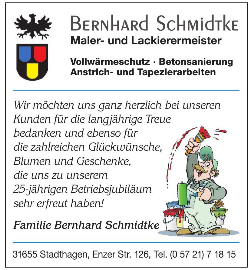 Bernhard Schmidtke Maler- und Lackierermeister