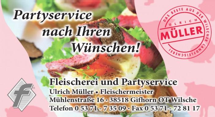 Fleischerei und Partyservice Ulrich Müller Fleischermeister