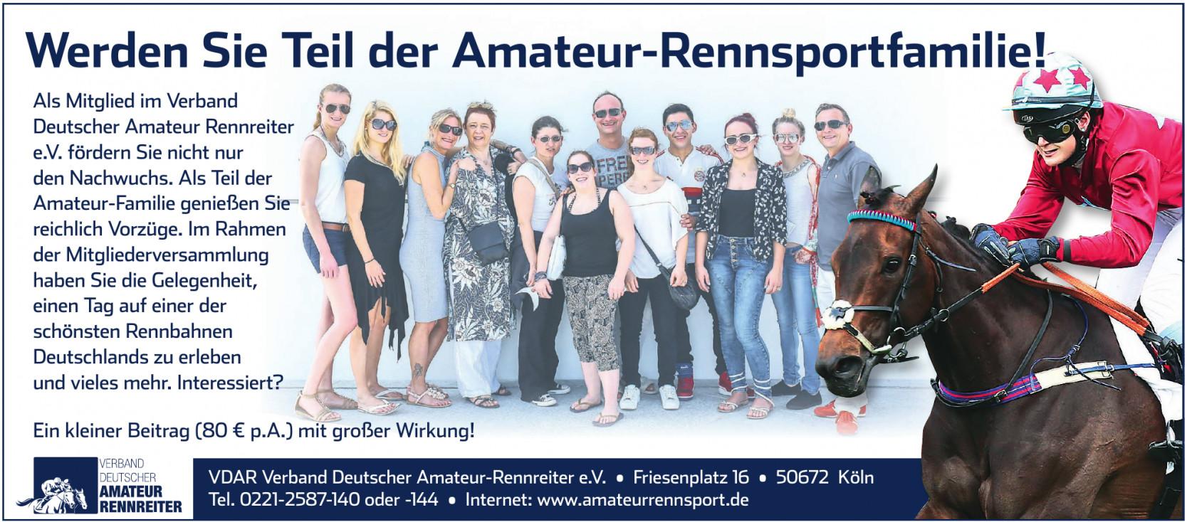 VDAR Verband Deutscher Amateur-Rennreiter e.V.