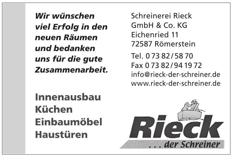 Schreinerei Rieck GmbH & Co. KG