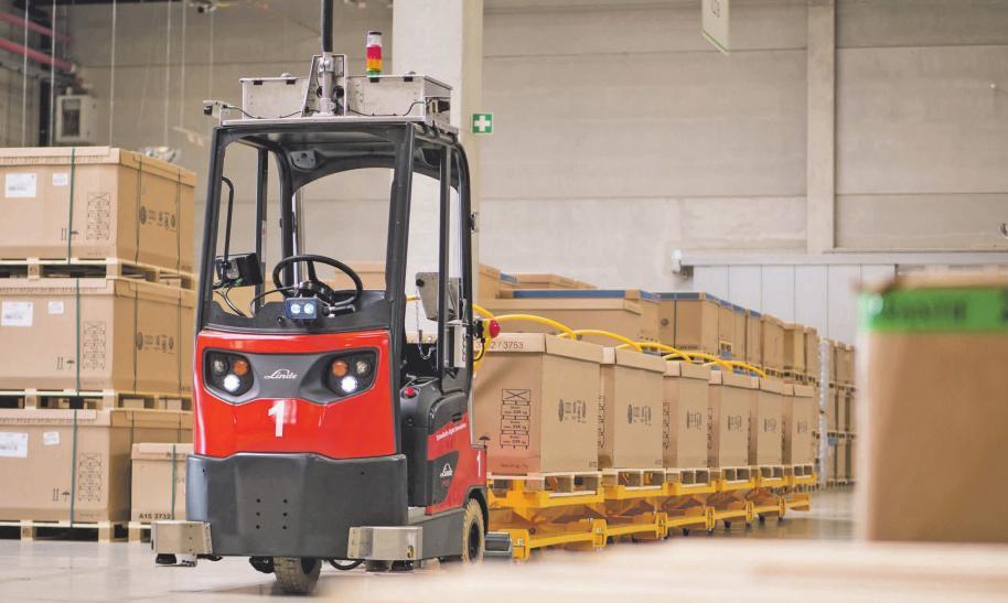 Rund 30 Unternehmen aus Wolfsburg, Braunschweig und Salzgitter zeigen innovative Lösungen, darunter auch die Schnellecke Group AG & Co. KG. Wolfsburg AG