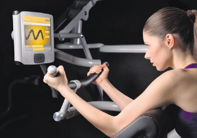 Mit dem neuen, vollelektronischen Gerätezirkel von eGym trainiert man im Sports Club in nur elf Minuten effizienter als je zuvor Foto: pr