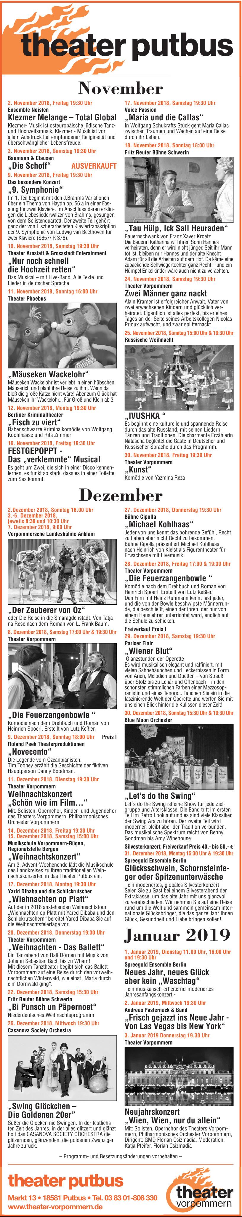 Theater Vorpommern GmbH