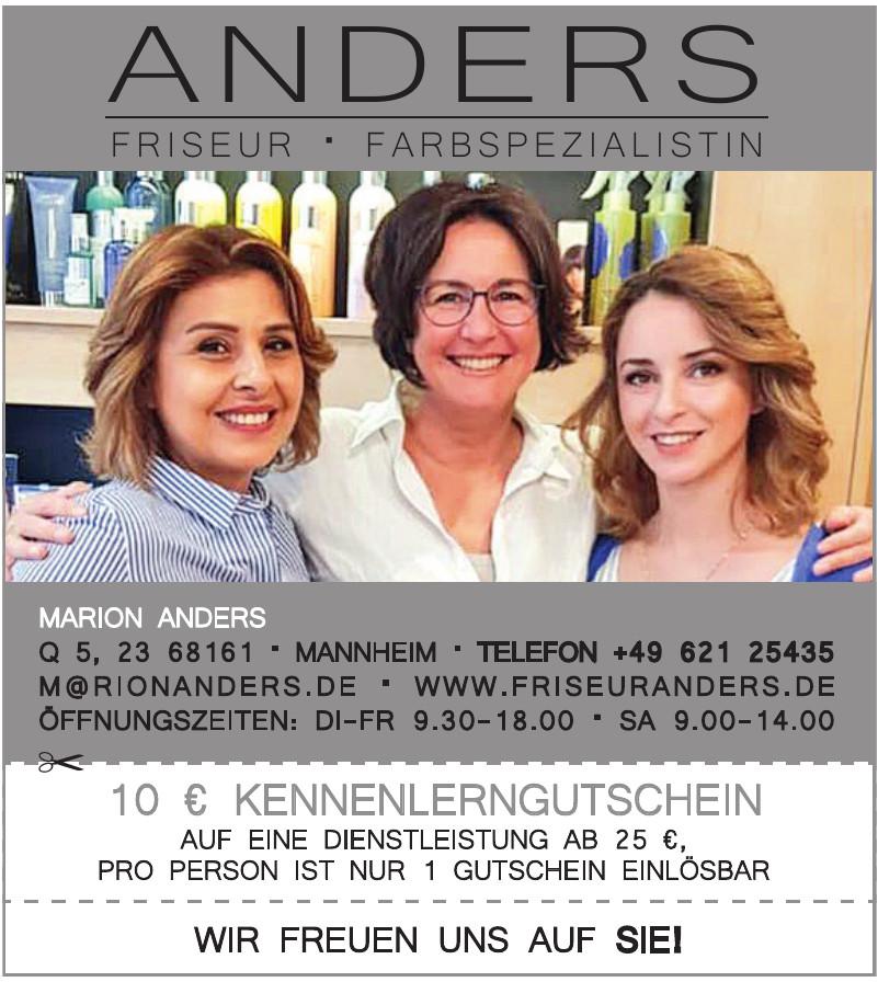 Anders - Friseur - Farbspezialistin