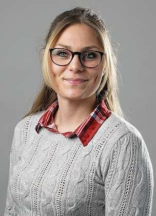 Laura Wedemeyer ist 23 Jahre alt und absolviert eine Ausbildung zur Groß- und Außenhandelskauffrau.                 FOTO: KARSTEN DOLLAK