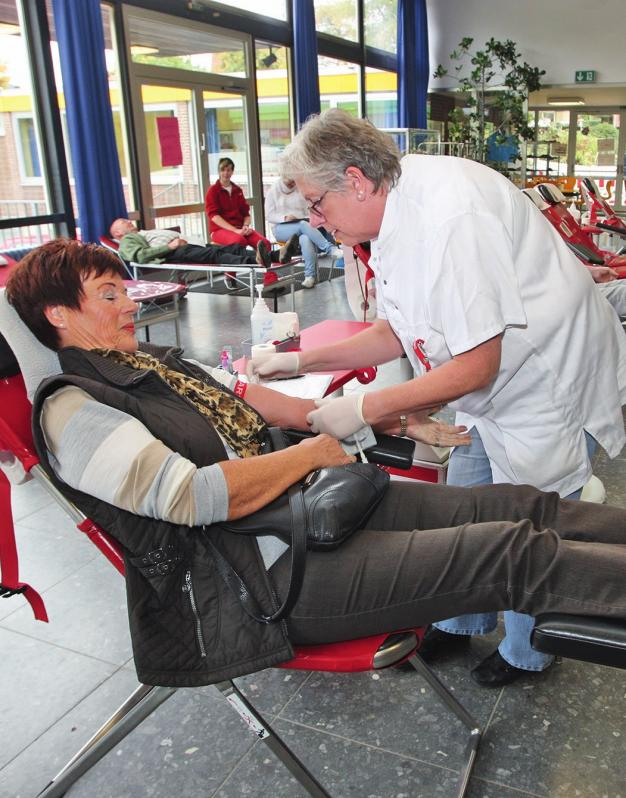 Der nächste DRK-Blutspendetermin in der Heidgartenschule Vorsfelde findet am 5. Oktober von 11 bis 19.30 Uhr statt.