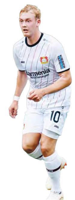 Julian Brandt hat sich für einen Verbleib in Leverkusen entschieden und ist nun die große Hoffnung der neuen Saison.