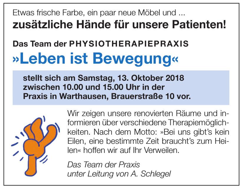 Das Team der Praxis unter Leitung von A. Schlegel