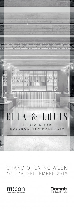 ELLA & LOUIS MUSIC & BAR ∙ ROSENGARTEN MANNHEIM