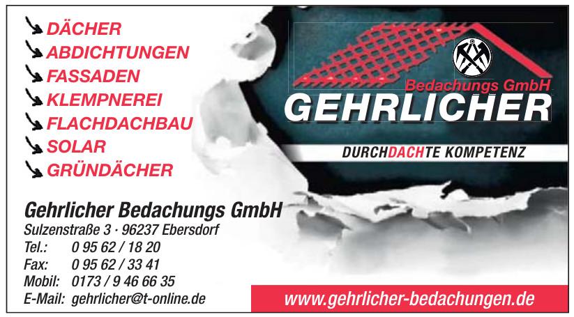 Gehrlicher Bedachungs GmbH