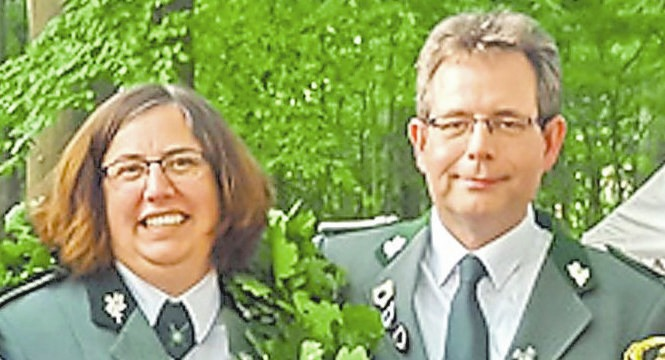 Das St. Josef-Königspaar sind Sabine und Georg Recker.