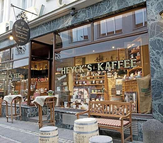Kaffee- und Tee-Spezialist Paul Heyck in der Faulstraße. FOTO: HFR