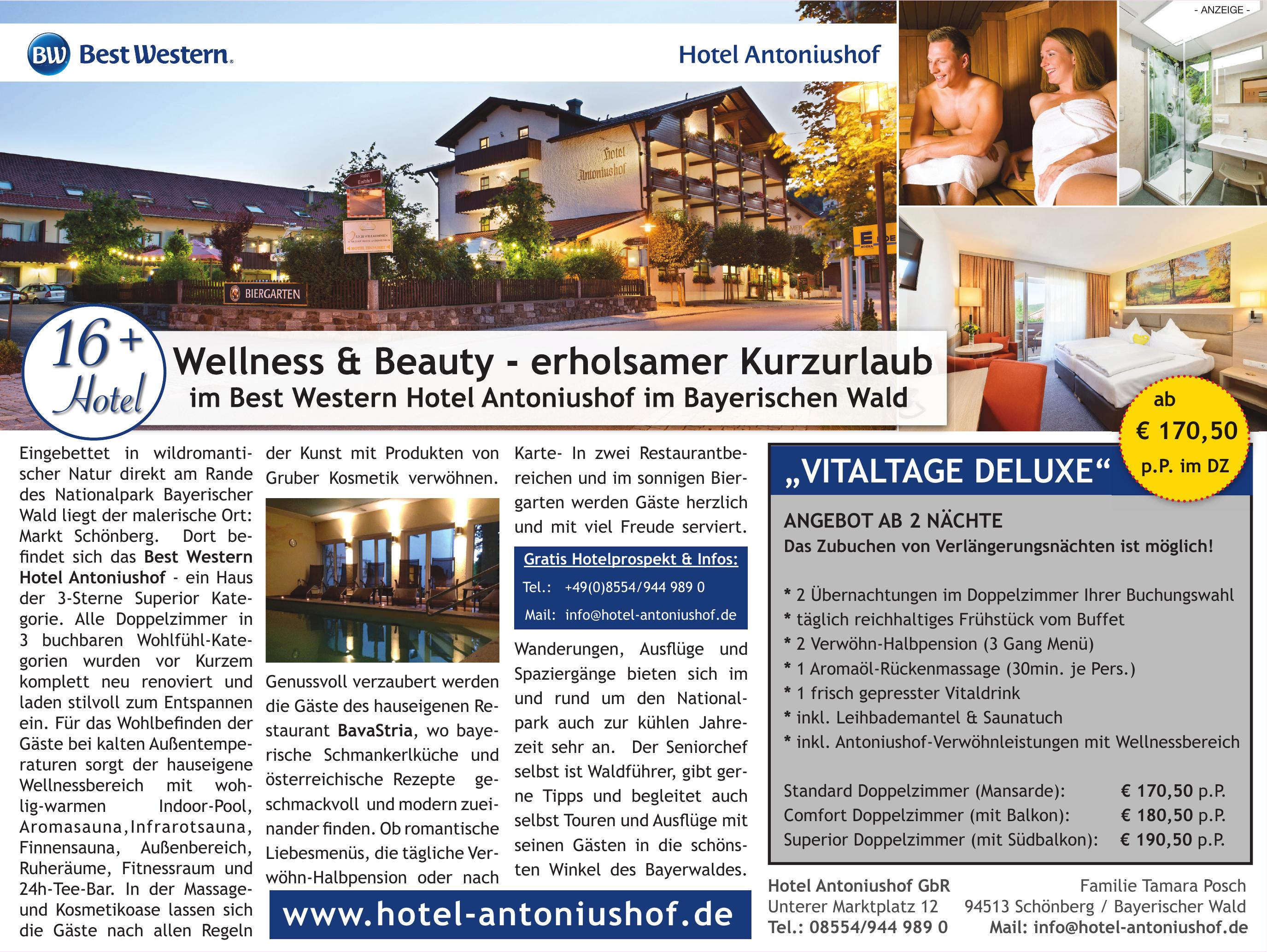 Hotel Antoniushof GbR